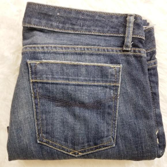 GAP Denim - Gap 1969 Jeans,  Dark Denim.  Straight Leg EUC